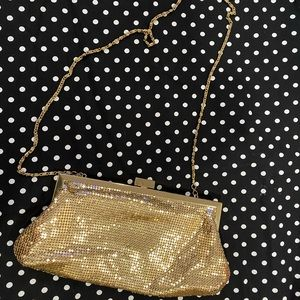Gold Shimmering Clutch Purse